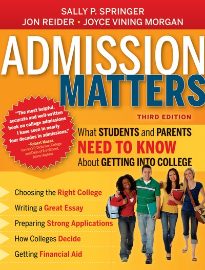 Admission Matters 3rd